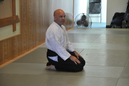 Aikido martial arts instructor Campagna Newark Fremont Union City
