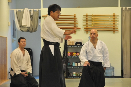 Tasaka Shihan Teaching Aikido Tri City Aikido